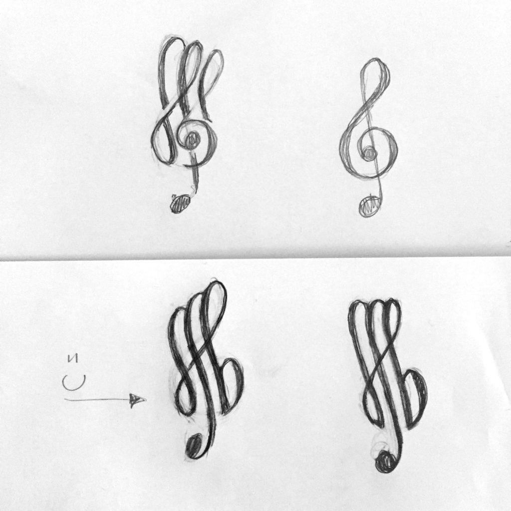 Ran Keren, Logoentwurf - musik in johannes baptist