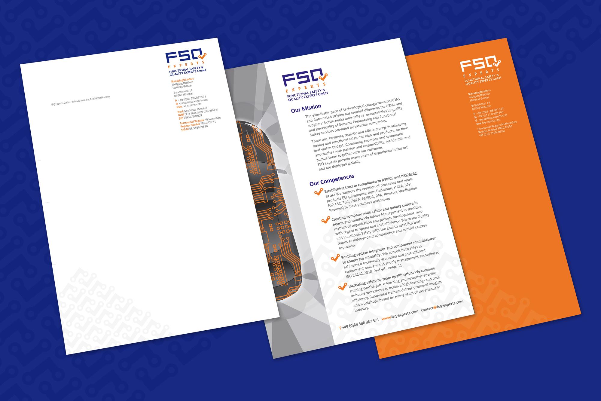 Ran Keren - Briefbogen und Flyer - FSQ experts