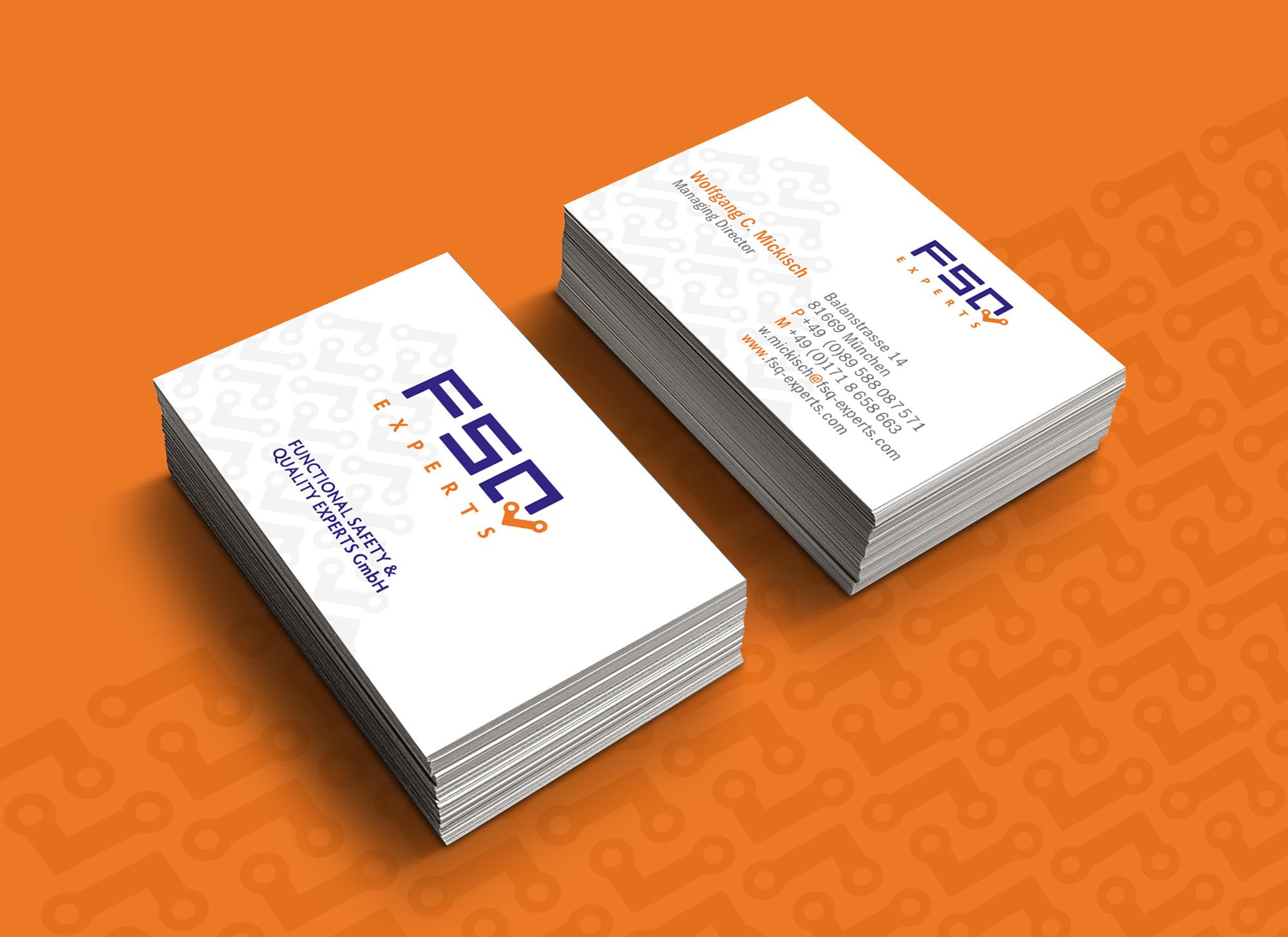 Ran Keren - Business card - FSQ experts