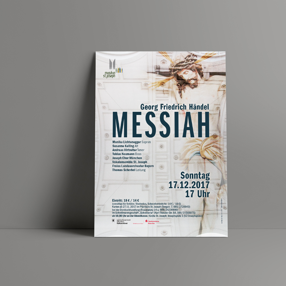 Ran Keren - Konzertplakat - St. Joseph, München