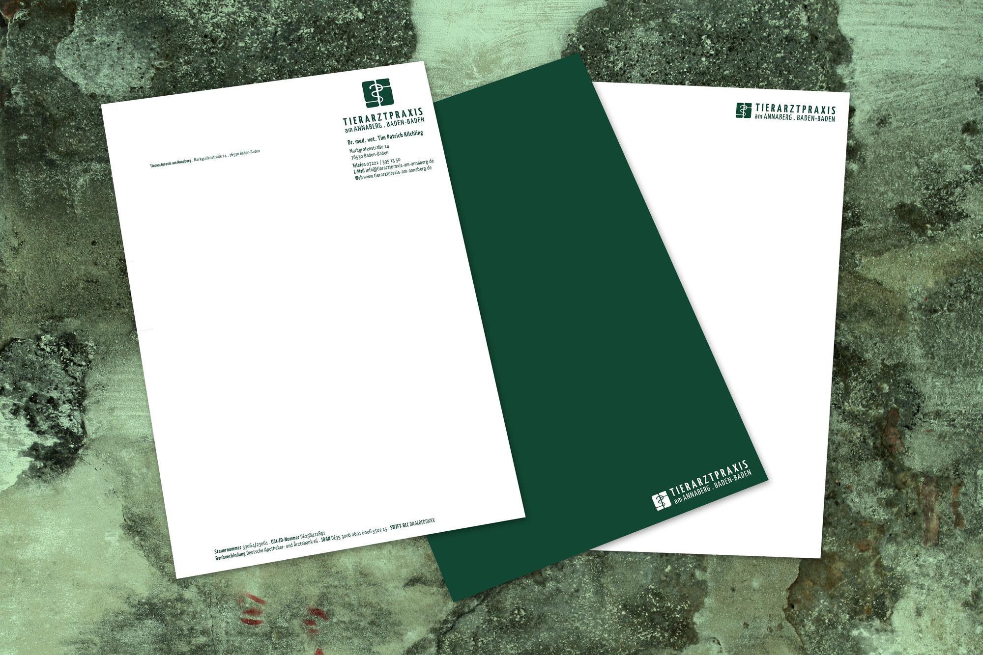Ran Keren - Briefbogen - Tierarztpraxis