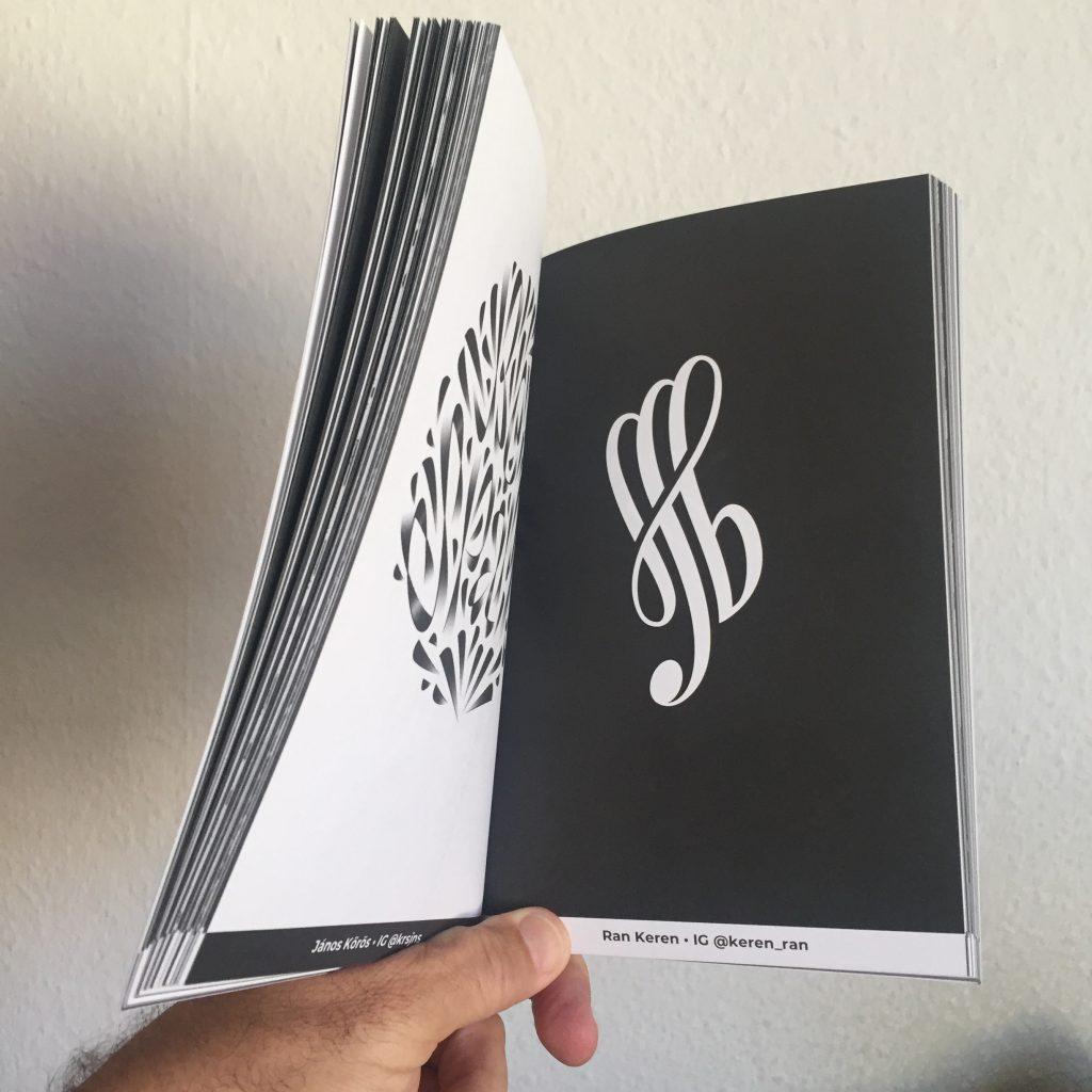 Ran Keren Typism Book 6 2020 Logo