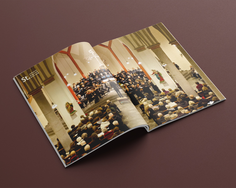 Ran Keren Broschüre Musik in Johannes Baptist Refrath