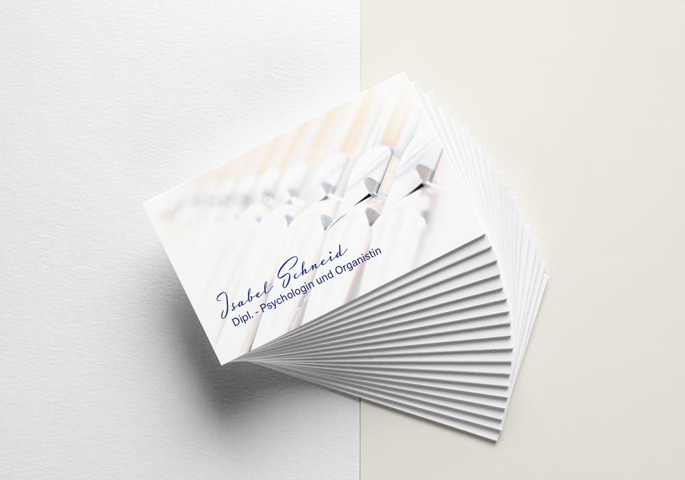 Ran Keren - Visitenkarte design