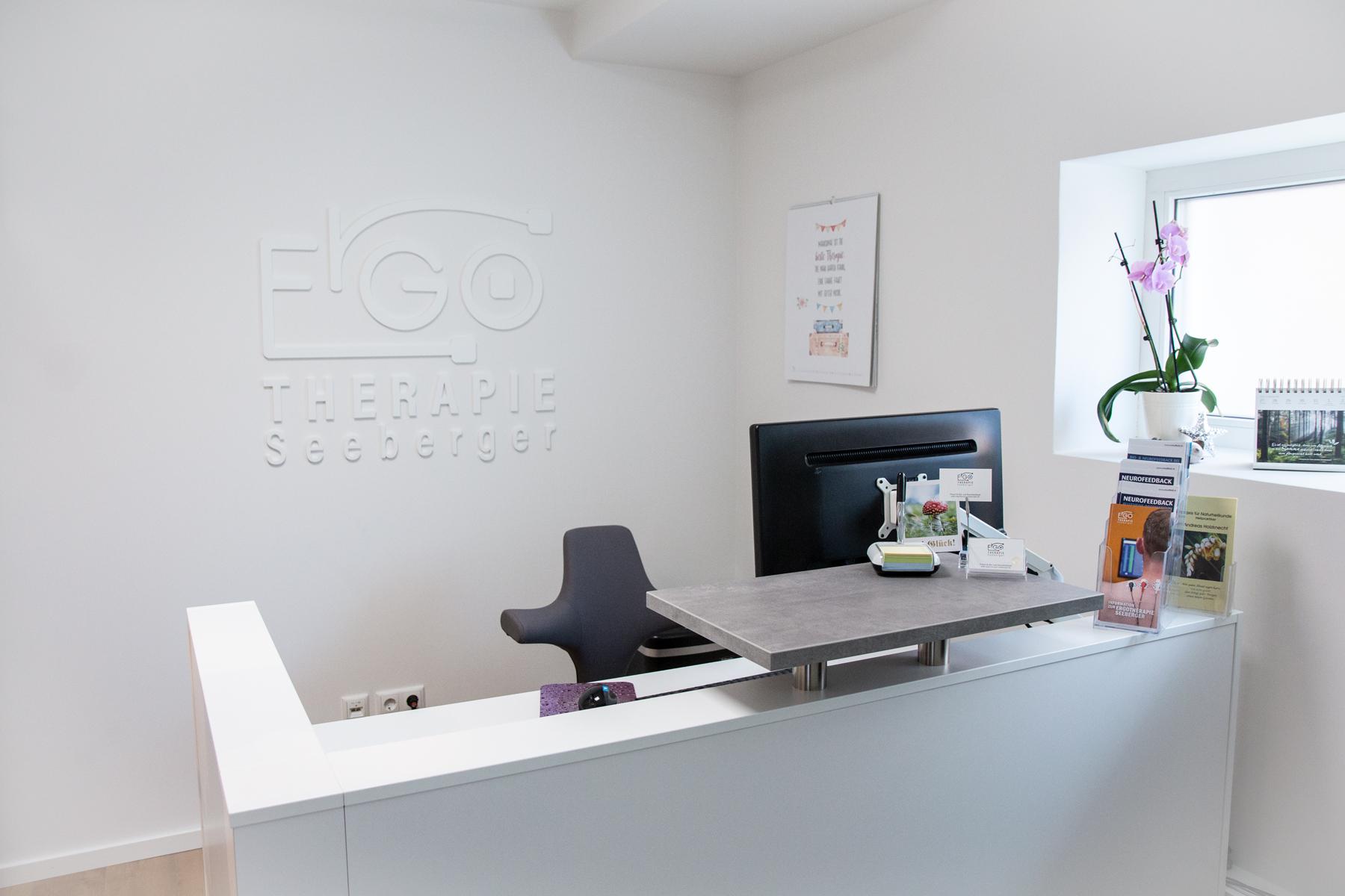 Ran Keren, Logodesign, Corporate Identity, Ergotherapie Seeberger, Praxis