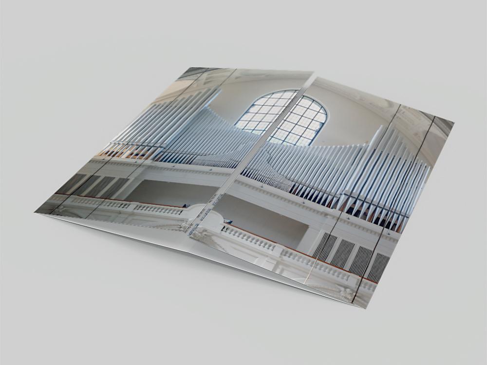 Ran Keren Orgelfestwochen Flyer, St. Margaret, München 2020