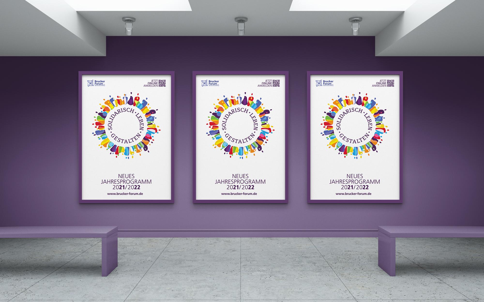 Ran Keren - Jahresplakate Brucker Forum e.V. 2021 2022